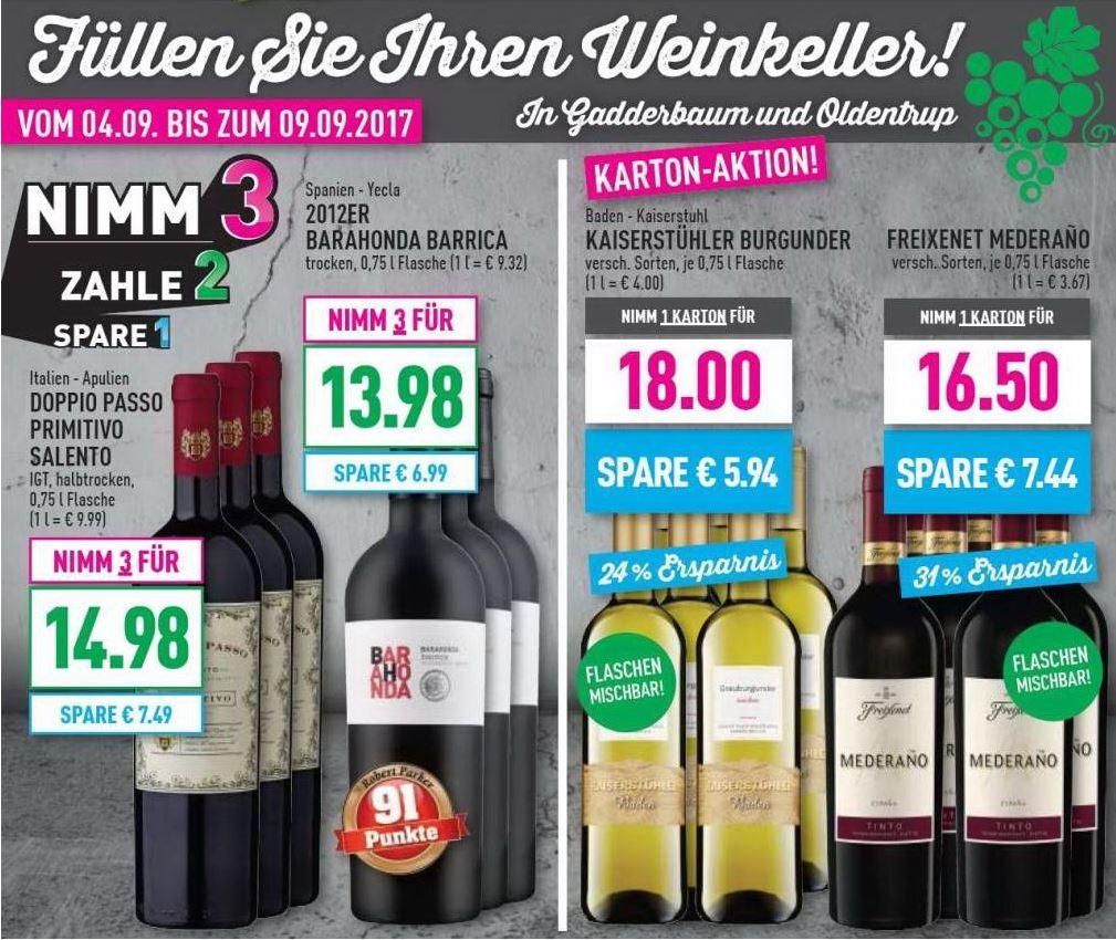 Füllen Sie Ihren Weinkeller!
