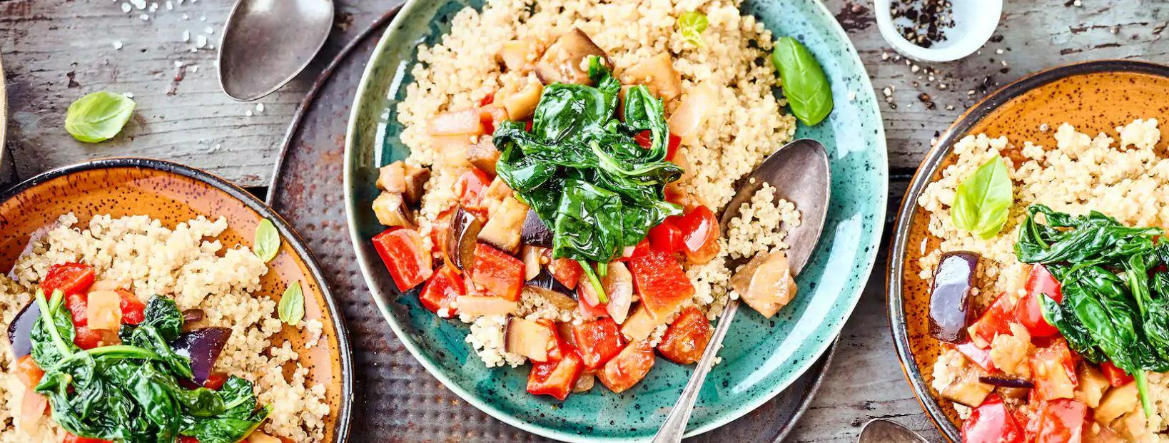 Quinoa-Ratatouille Rezept